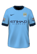 Manchester City Home Kit