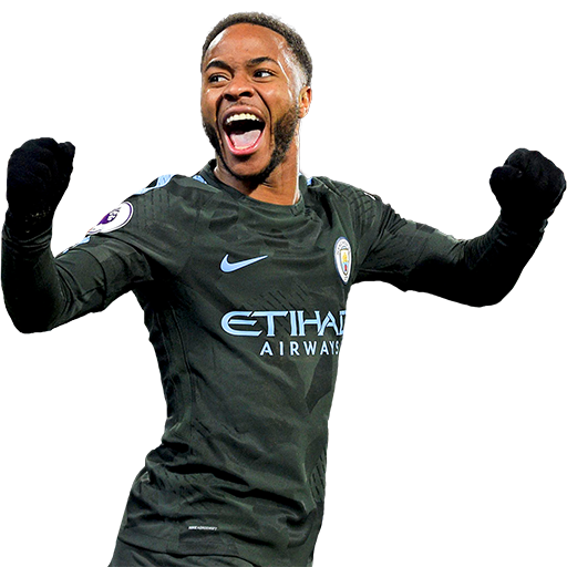 FIFA 18 Raheem Sterling Icon - 87 Rated