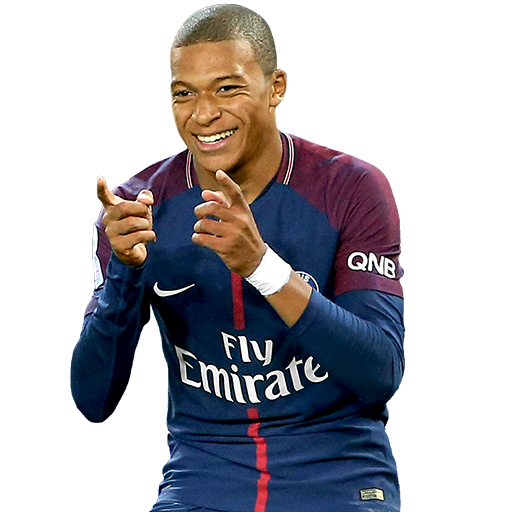 FIFA 18 Kylian Mbappe Icon - 86 Rated