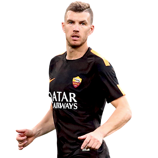 FIFA 18 Edin Dzeko Icon - 89 Rated
