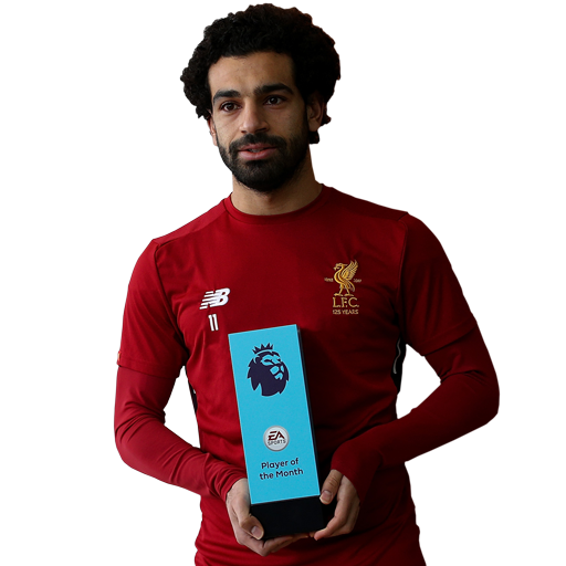 FIFA 18 Mohamed Salah Icon - 89 Rated