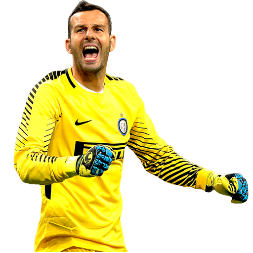 FIFA 18 Samir Handanovic Icon - 95 Rated