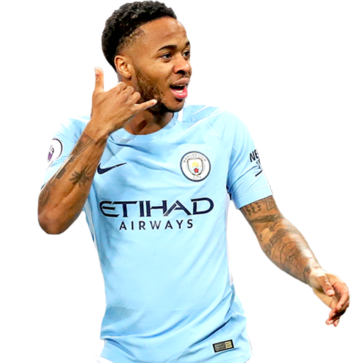 FIFA 18 Raheem Sterling Icon - 93 Rated