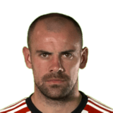 FIFA 18 Darron Gibson Icon - 74 Rated