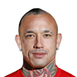 FIFA 18 Radja Nainggolan Icon - 88 Rated