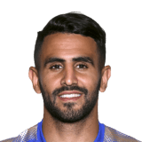 FIFA 18 Mahrez Icon - 86 Rated