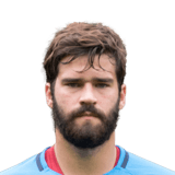 FIFA 18 Alisson Icon - 80 Rated
