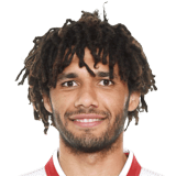 FIFA 18 Mohamed Elneny Icon - 77 Rated