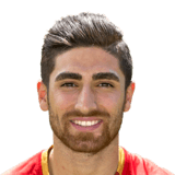 FIFA 18 Alireza Jahanbakhsh Icon - 75 Rated
