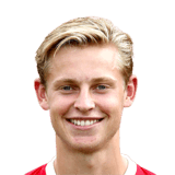 FIFA 18 Frenkie de Jong Icon - 75 Rated