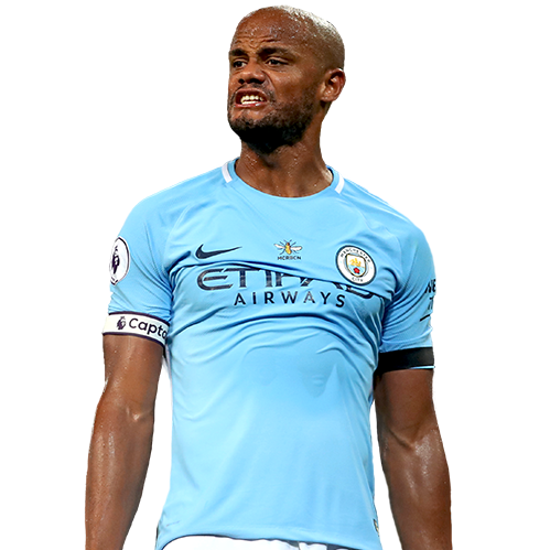 FIFA 18 Vincent Kompany Icon - 86 Rated
