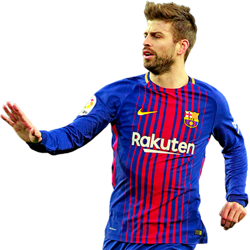 FIFA 18 Pique Icon - 93 Rated