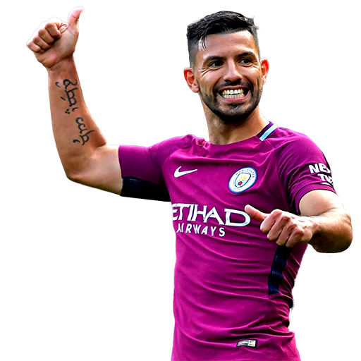 FIFA 18 Aguero Icon - 90 Rated