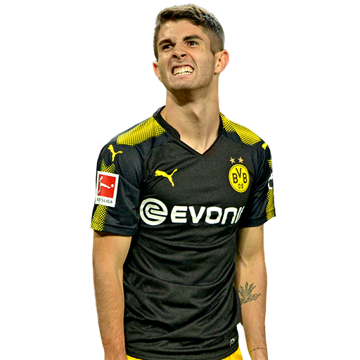 FIFA 18 Pulisic Icon - 79 Rated