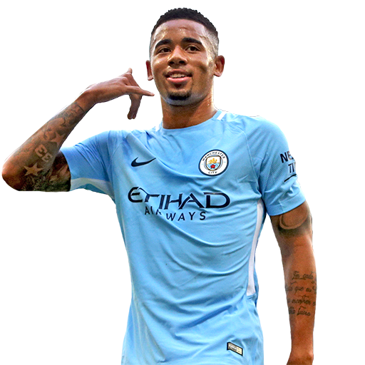 FIFA 18 Gabriel Jesus Icon - 84 Rated