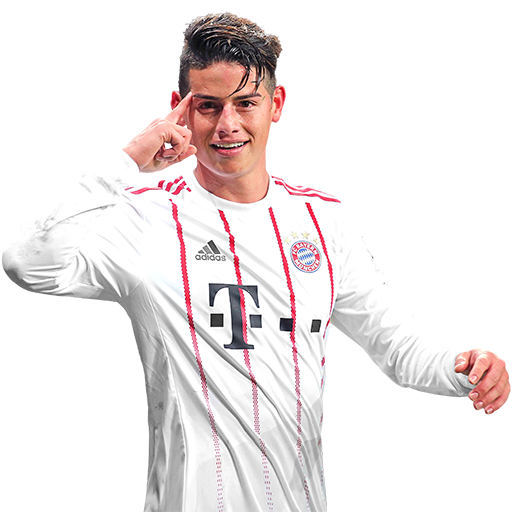 FIFA 18 James Rodriguez Icon - 88 Rated
