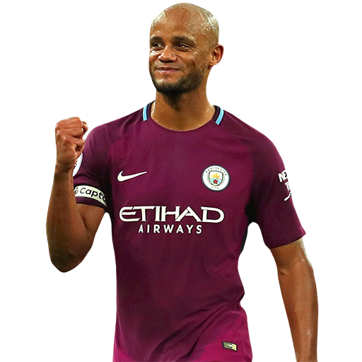 FIFA 18 Vincent Kompany Icon - 87 Rated