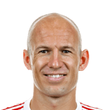 FIFA 18 Robben Icon - 99 Rated