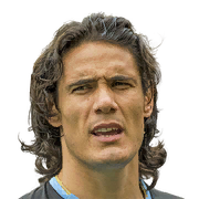 Edinson Cavani FIFA 18 Custom Card Creator Face
