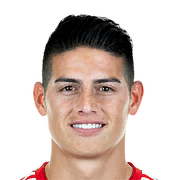 James Rodriguez Face