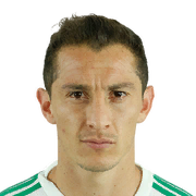 FIFA 18 Andres Guardado Icon - 84 Rated