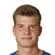 FIFA 18 Alexander Sorloth Icon - 71 Rated