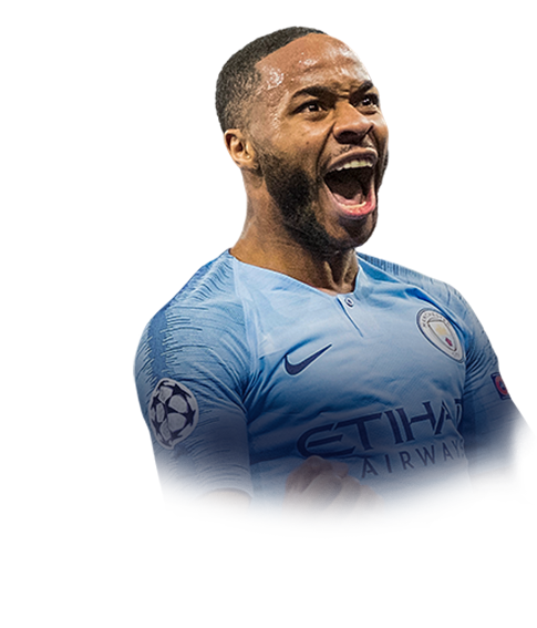 FIFA 19 Sterling Face