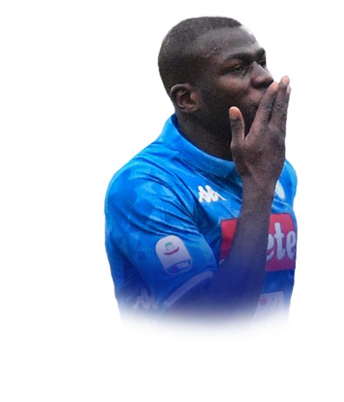 Koulibaly face