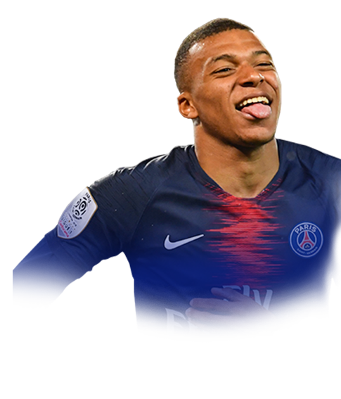 FIFA 19 Mbappe Face