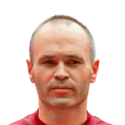 FIFA 18 Iniesta Icon - 90 Rated