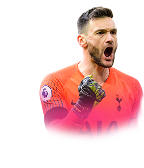 Lloris face