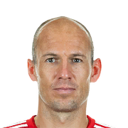 FIFA 18 Arjen Robben Icon - 86 Rated