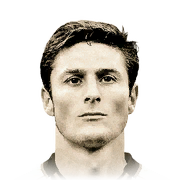 Javier Zanetti 92 Rated