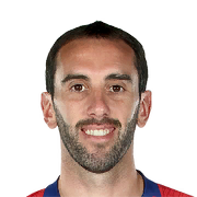 Diego Godin 88 Rated