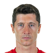Robert Lewandowski 89 Rated