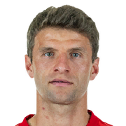 Thomas Muller 86 Rated