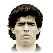 Diego Maradona 97 Rated