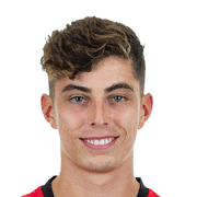 Kai Havertz 84 Rated