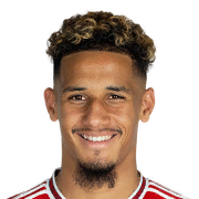 William Saliba 71 Rated