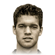 Michael Ballack 91 Rated
