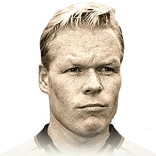 Ronald Koeman 91 Rated