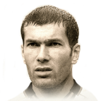 Zinedine Zidane 96 Rated