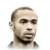 Thierry Henry 93 Rated
