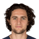 Adrien Rabiot 81 Rated