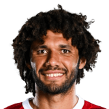 Mohamed Elneny 76 Rated