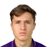 Federico Chiesa 82 Rated