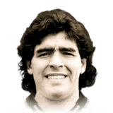 Diego Maradona 95 Rated