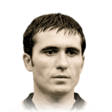 Gheorghe Hagi 89 Rated