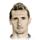 Miroslav Klose 89 Rated
