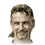 Roberto Baggio 89 Rated